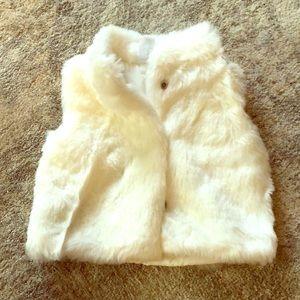 Carter's faux fur vest